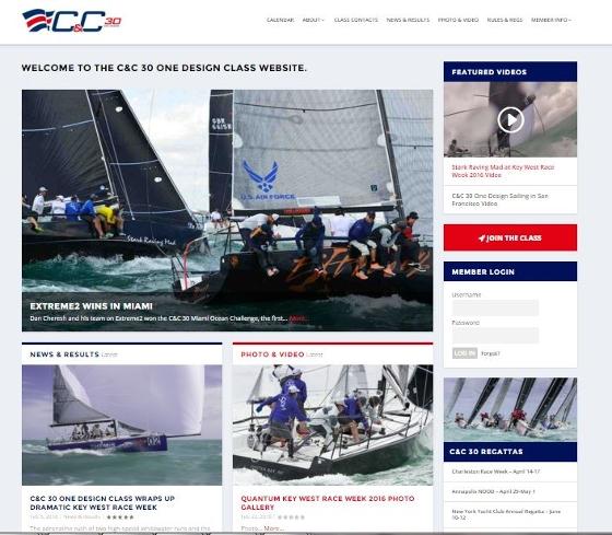 cc 30 one design class website